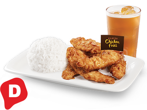 Chicken Fries Ricebox