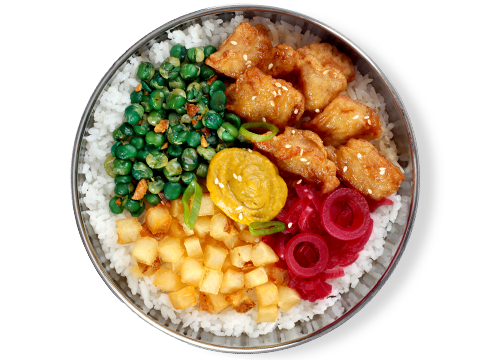 BonChon Bibimbowl Chicken