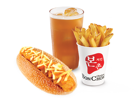 BonChon Krazy Ko-Dog Cheesy Potato