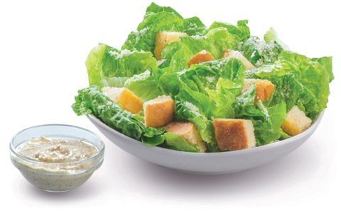 BonChon Chicken Caesar Salad
