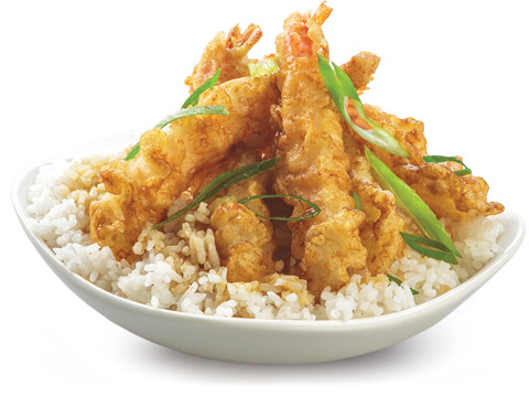 BonChon Crispy Shrimp Rice