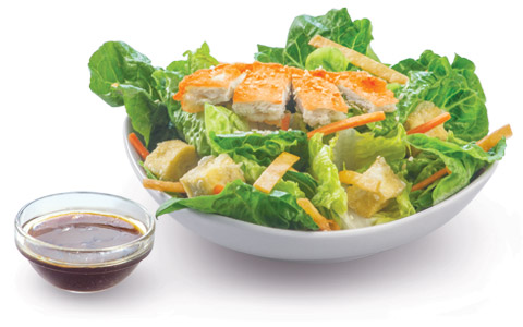 BonChon Chicken Oriental Crispy Chicken Salad