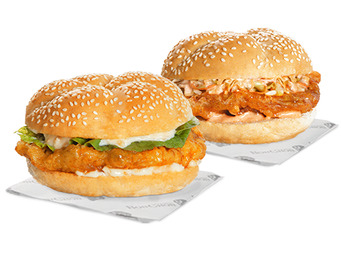 BonChon Snackwich Double Garlic and Double Spicy