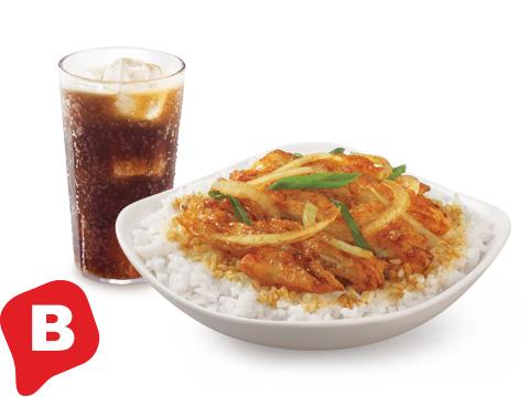 BonChon Crunchy Chicken Bulgogi Ricebox