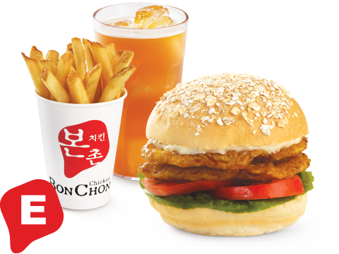 BonChon Chicken Sandwich Box