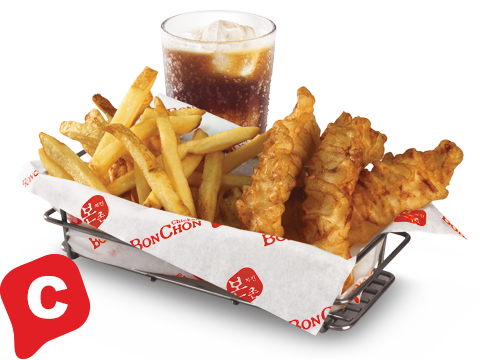 BonChon Fish & Chips Box