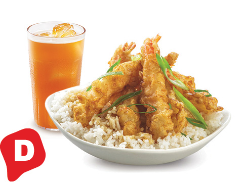 BonChon Crispy Shrimp Ricebox