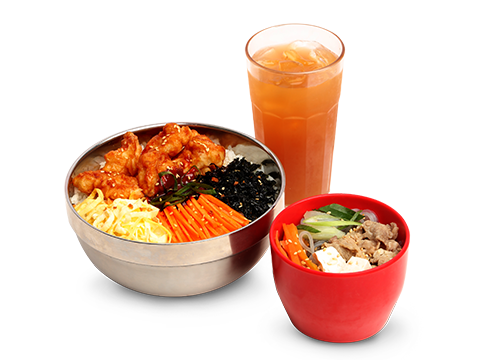 BonChon Bibimbowl Chicken Ricebox