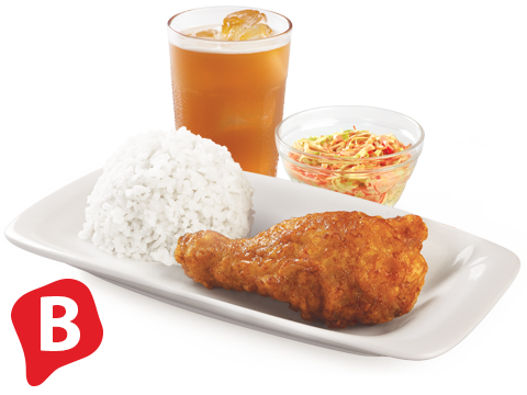BonChon 1PC. K-Style Boxed Meal Plus