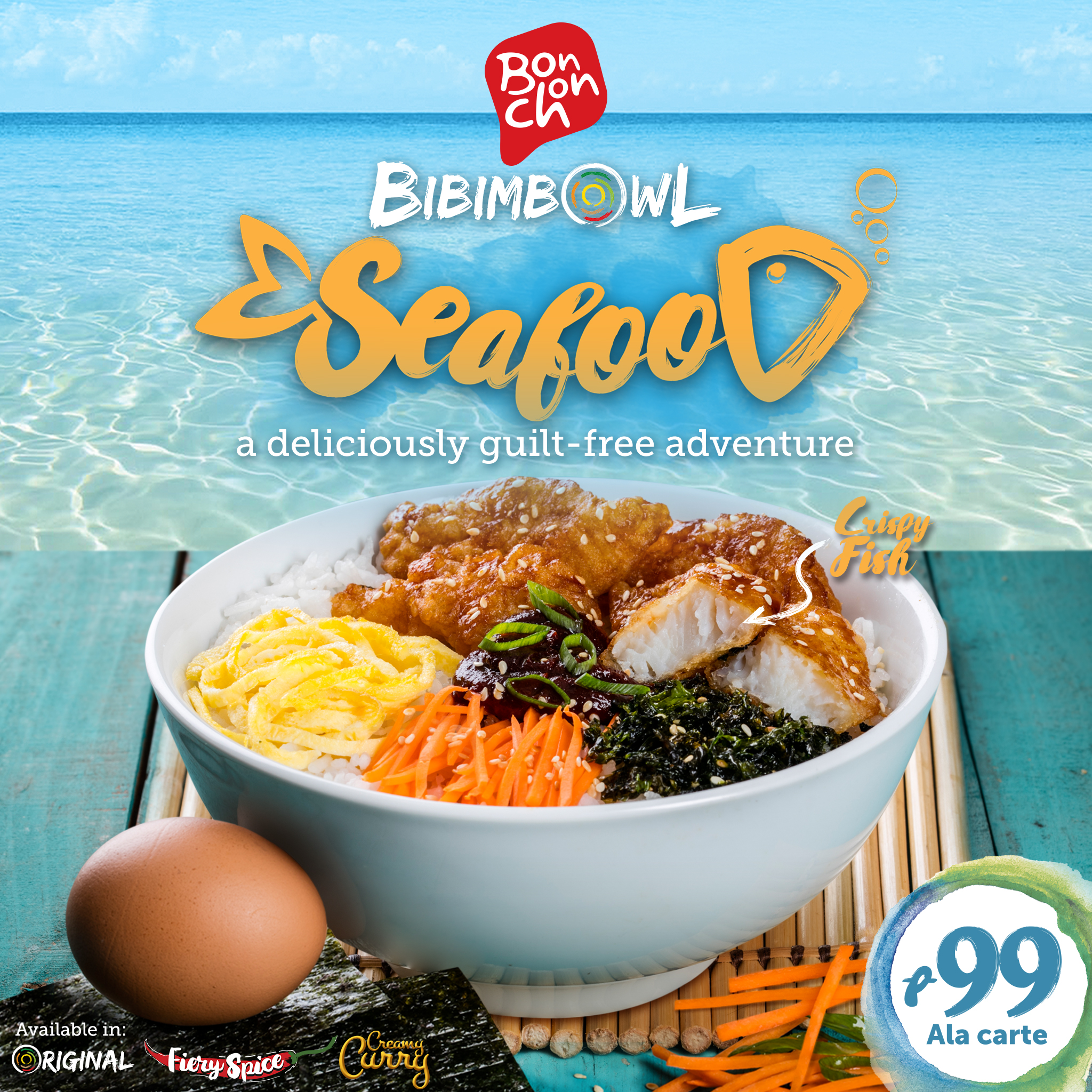 BonChon Bibimbowl Seafood