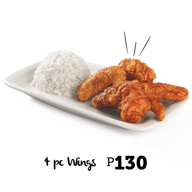 Bonchon 4 pc Wings