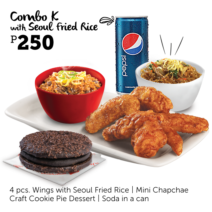 Bonchon Combo K Seoul Fried Rice
