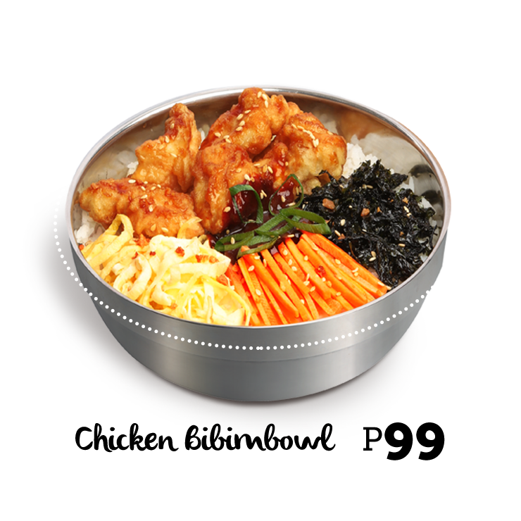 Bonchon Chicken Bibimbowl