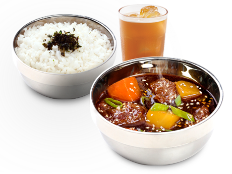 Bonchon Beef Stew Meal