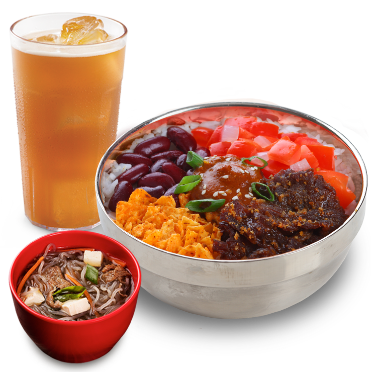 Bonchon Taco Bibimbowl Meal