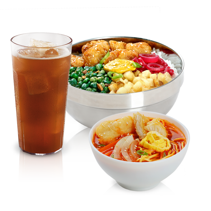Bonchon Bibimbowl Boxed Meal Jjamppong Add-on