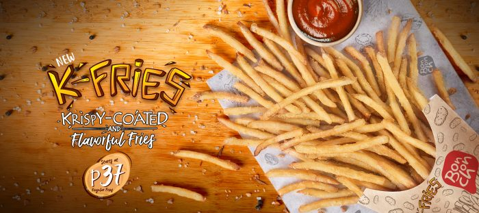 K-Fries Website banner