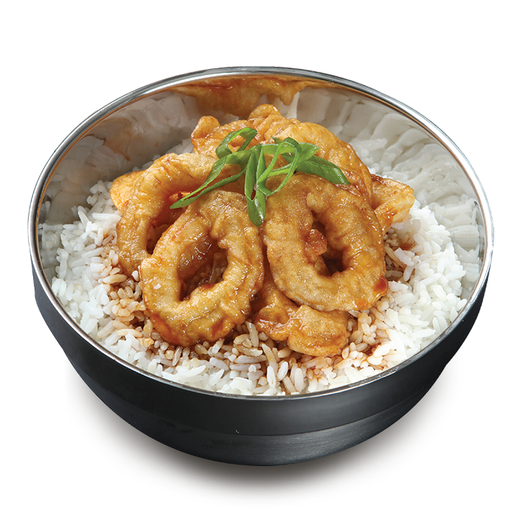 Bonchon Crispy Squid Ala Carte